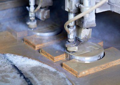 3D CNC Waterjet Cutting